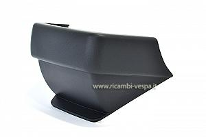 Dark grey plastic rear body protection