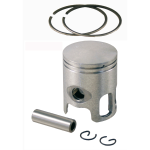 Complete piston 50cc from diameter 38.4 to diameter 38.8