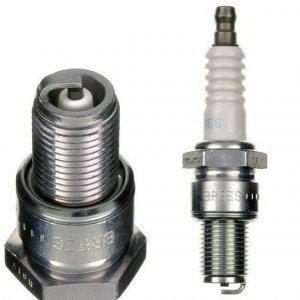 NGK BR9EG shielded spark plug with long pitch
