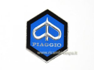 31mm hexagonal shield for Piaggio Ciao SI
