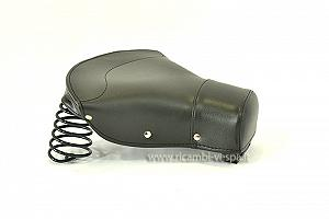 Complete dark green front saddle