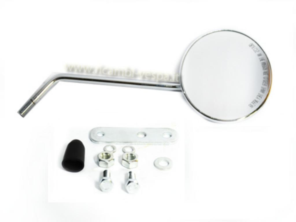 Chromed rear mirror  (DX)