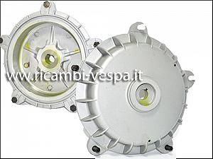 Molten aluminium wheel drum