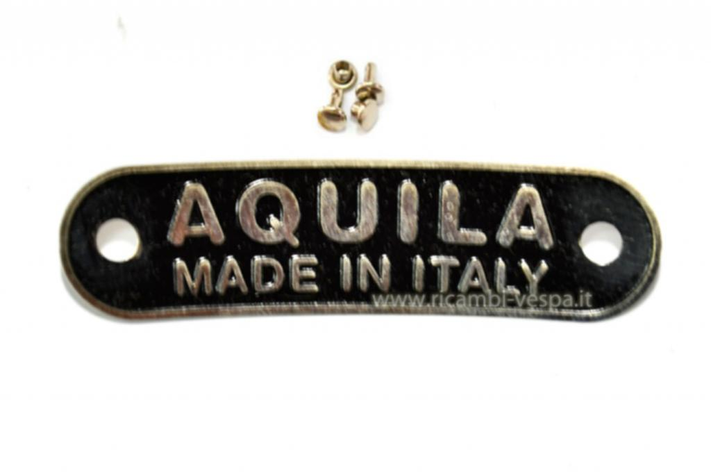 Aquila Made in Italy badge