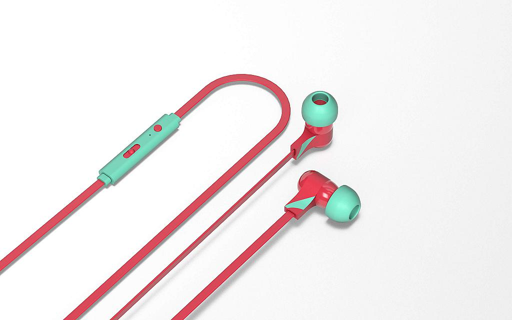 Berry swing earphones