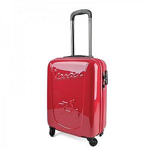 Vespa red legshied trolley case