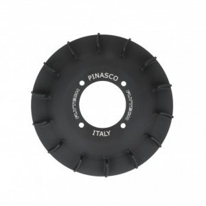 "Pinasco ""Airfanny"" aluminium fan, polished black"