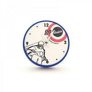 Vespa small wall clock - go Vespa