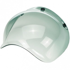 Universal bubble visor (smoked)