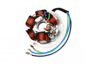 Complete stator BGM Pro ignition with points for Vespa 125/150 PX